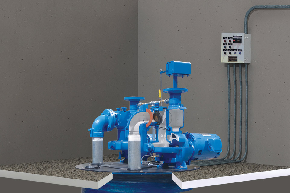 Self Priming Pump System