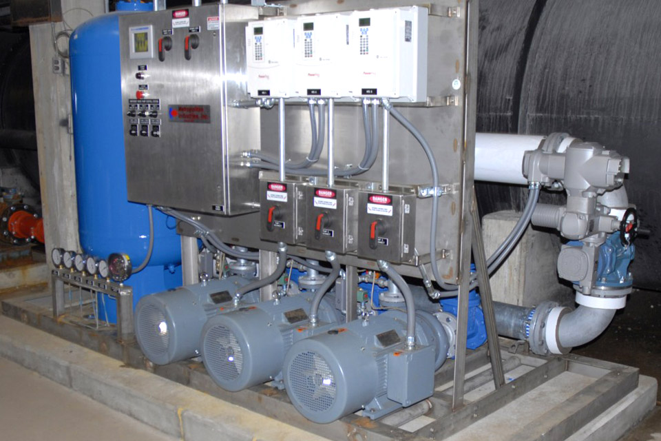 Stainless Steel Booster Pump System