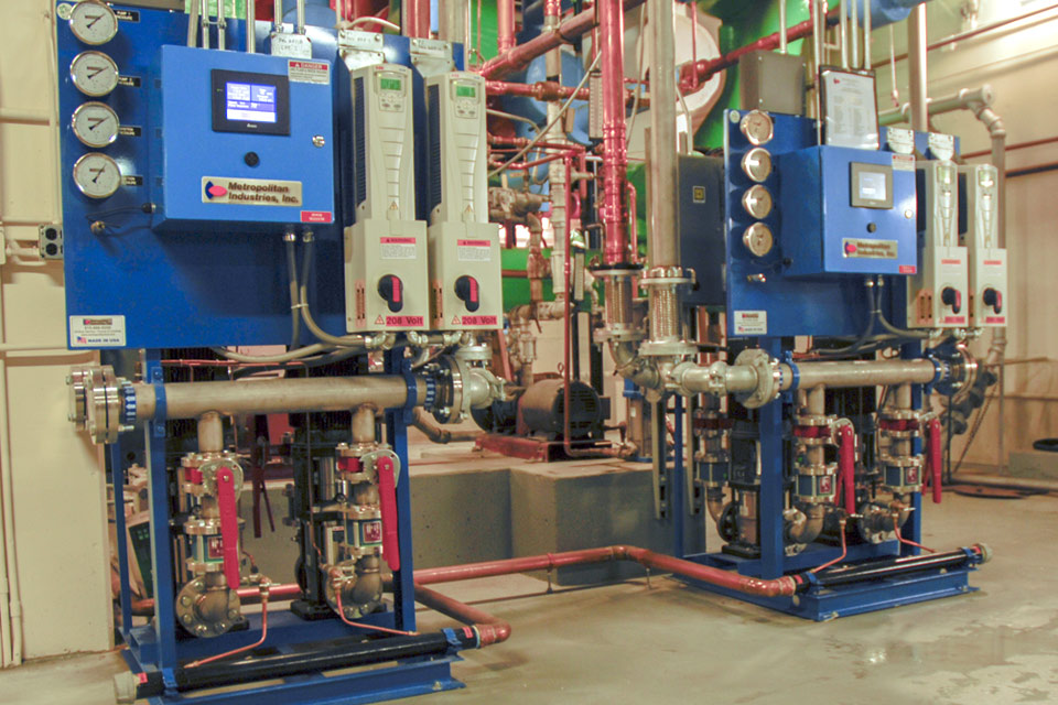 Hot Water Return Pump System
