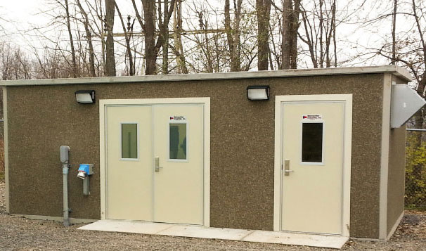 Prefabricated Housed Water Pressure Booster Pump Station, Preston County