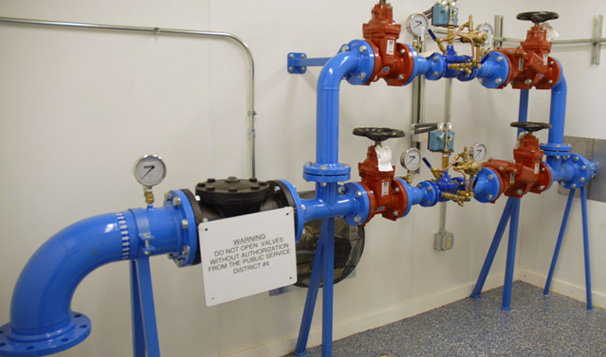 Water Pressure Reducing Valves, Preston County