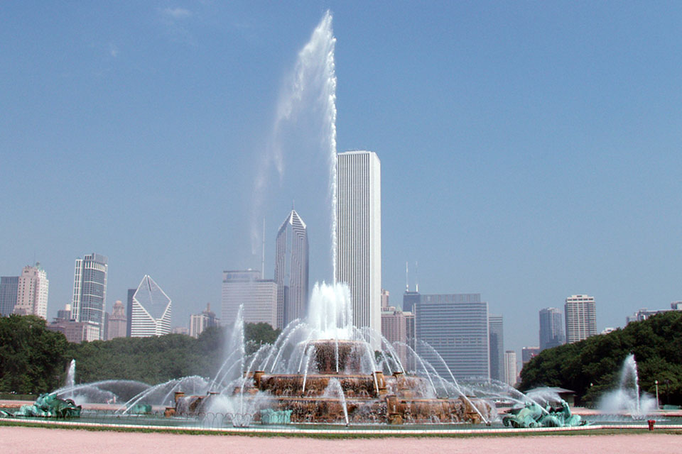 Buckingham Fountain Pump Repair