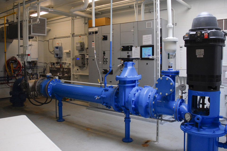 UV Treatment Unit, Well Piping