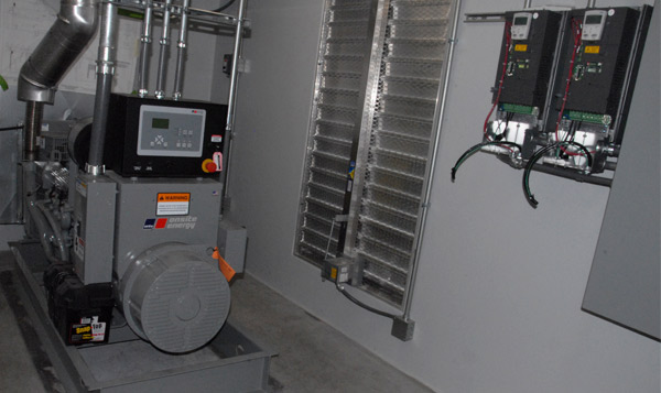Pump Control System House Interior