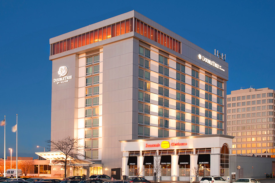 The Double Tree Hotel in Skokie, IL