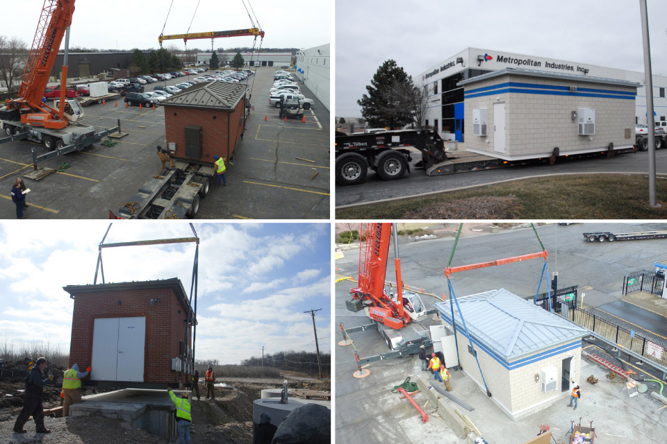 Prefabricated Pump Housing Systems Delivery Process