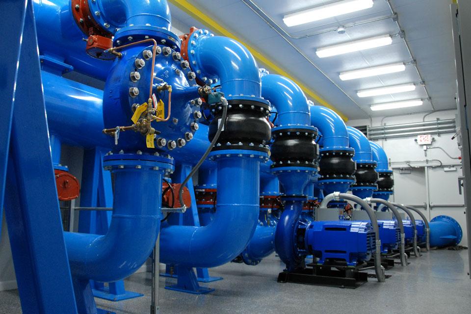 125 HP End Suction Pumps