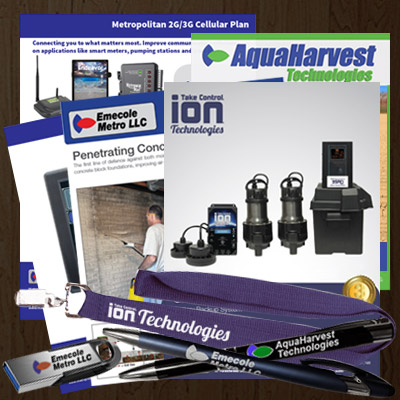 Our variety of pump and waterproofing brands