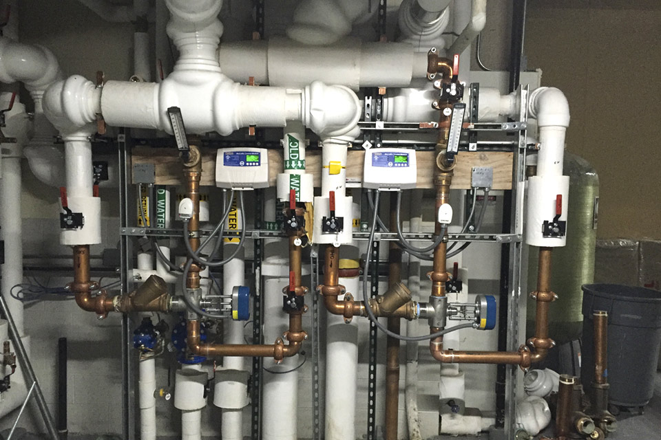 Hot Water Temperature Control in Commercial Buildings