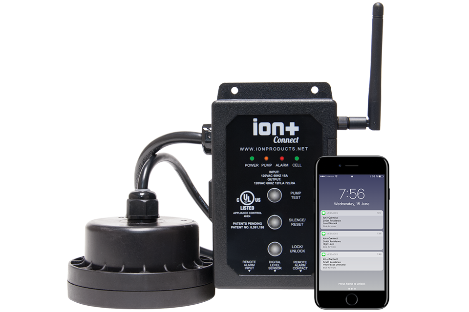 Ion Plus Connect Pump SMS Pump Monitoring Alerts