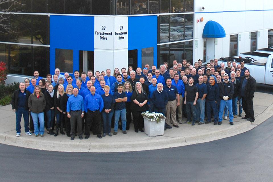 Metropolitan Industries, Romeoville IL Company Photo
