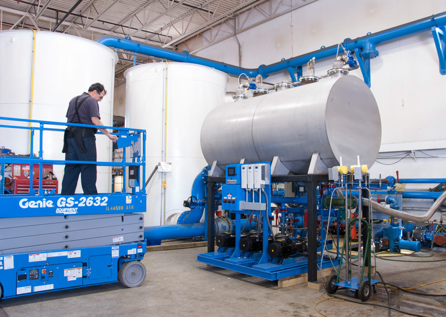 Metropolitan Upgrades Packaged Pump System Test Lab to Help Reduce Startup Time