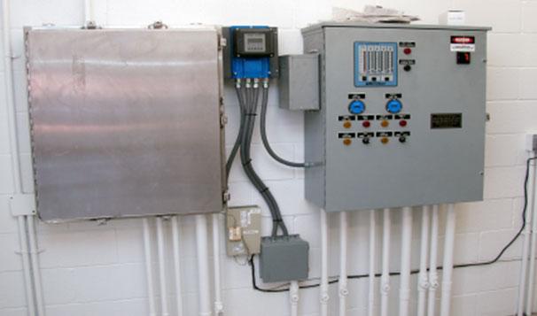 Duplex Sewage Lift Station Control System