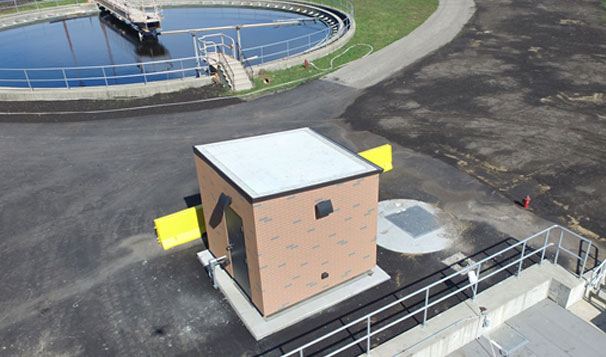 Effluent Reuse Station Building