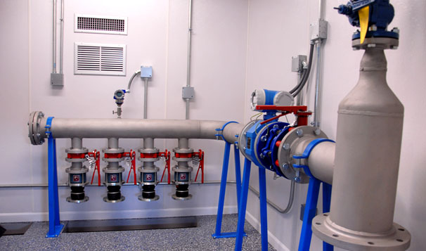 Effluent Water Reuse Station Interior