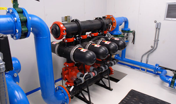 Water Reuse Pumps at Landfill Irrigation