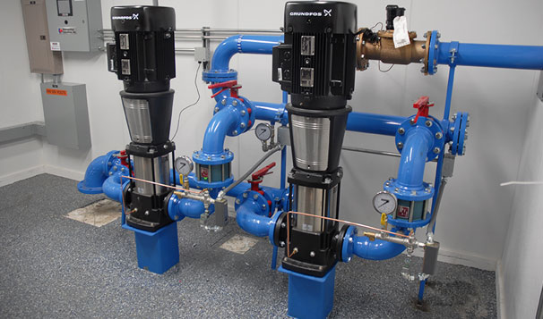 Chlorine Booster Housed System