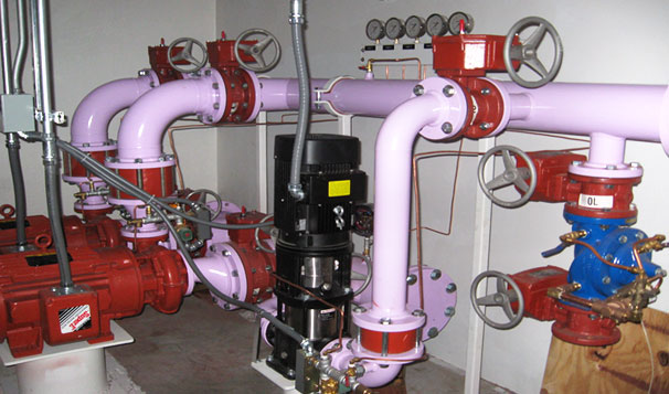 Rainwater Non-Potable Water Reuse Pump System