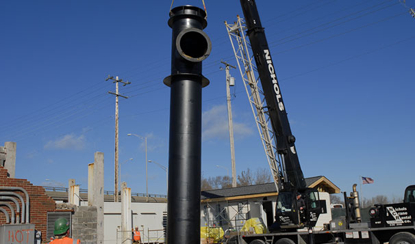 Stormwater Lift Station Pump Installation