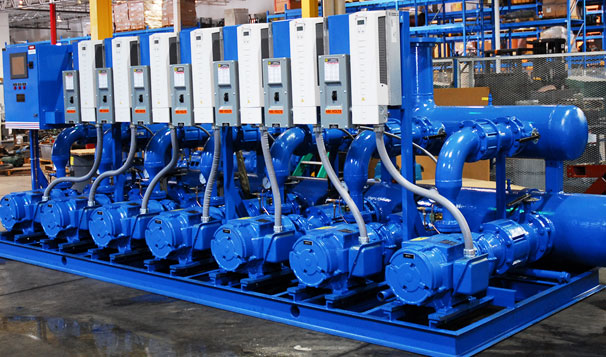 Booster Pumps, Large CDUV Center