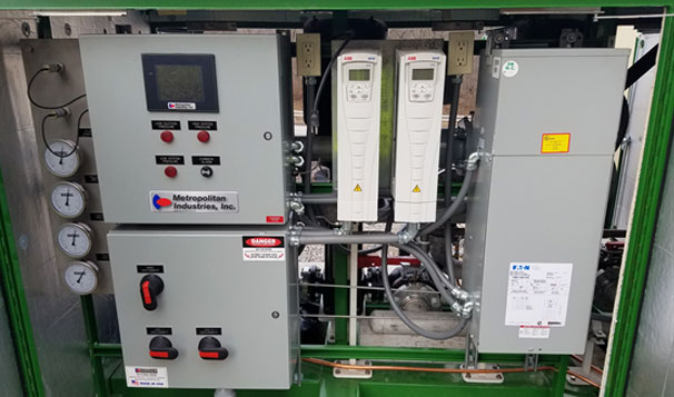 Booster Pump System Controls