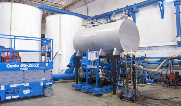 Air Gap Break Tank System Leaving Metropolitan Industries