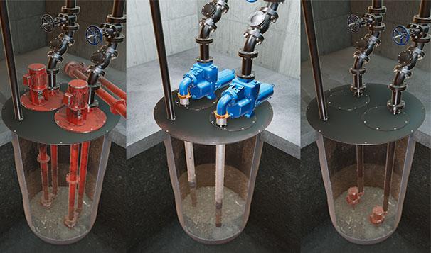 Self Priming Pumps Versus Submersible and Vertical Column Pumps
