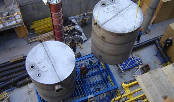 Transportation of Break Tank for Protecting Potable Water