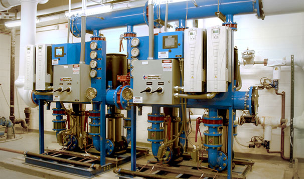 Pressure Boosting Pump System in Highrise Building