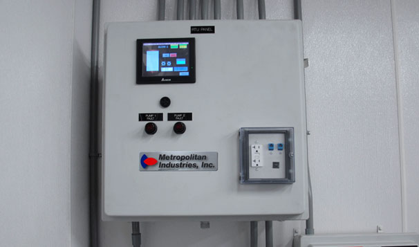 Water Treatment System Control Panel