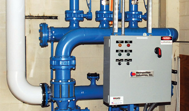 Building Heating & Cooling Closed Loop Pump System
