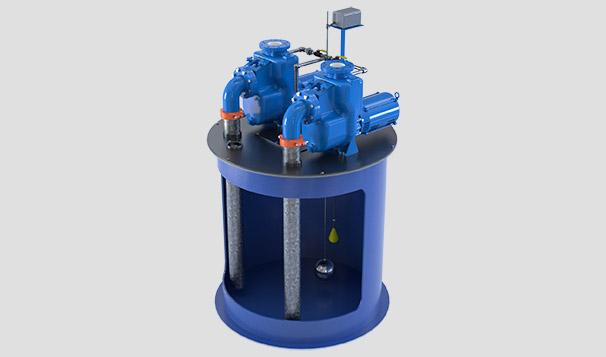 MPC 45 Self-Priming Pump and Duplex Basin