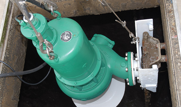 Submersible Storm and Sewage Pump Systems