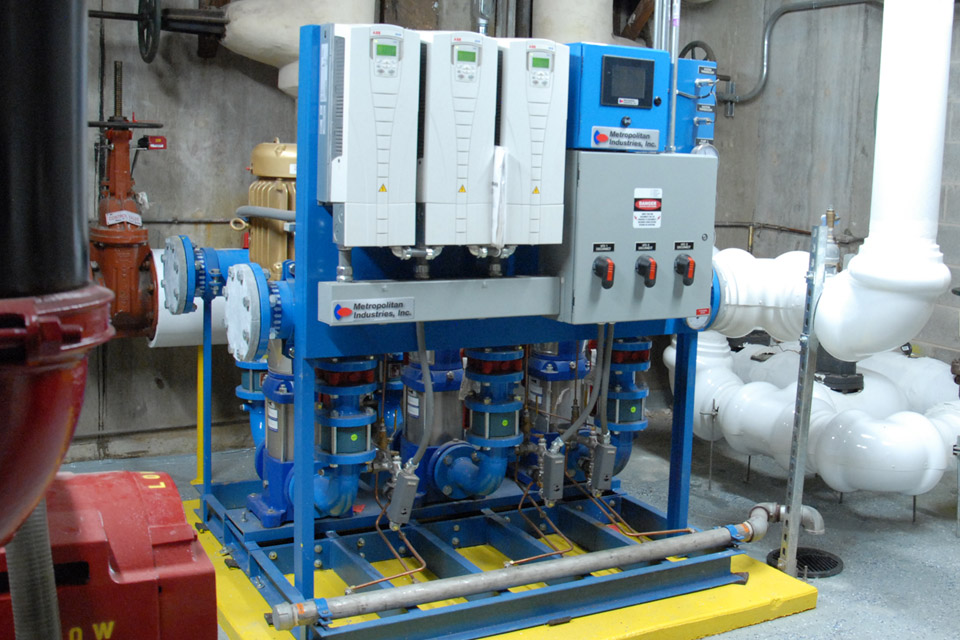 High Rise Hotel Water Pressure Boosting Pump System