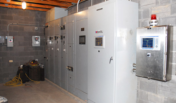 Motor Control Center for Digester Blower Control Station