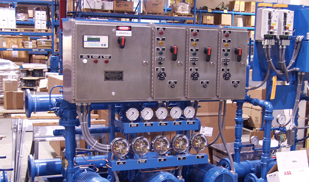 Stainless Steel Control Panel for Water Pressure Booster System