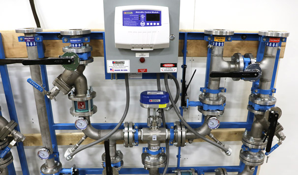 Electronic Water Temperature Control System