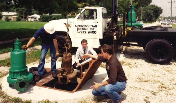Metropolitan Pump Company Field Service Call
