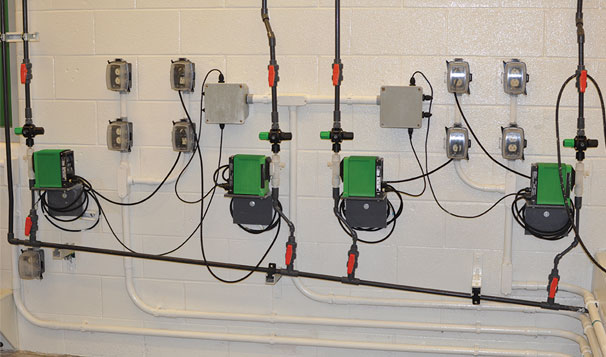 Chemical Feed Digital Dosing Pumps for Water Treatment