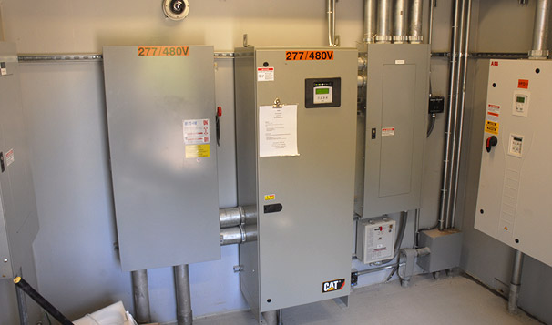Prefabricated Housed Lift Station Controls