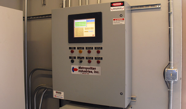 Prefabricated Housed Lift Station Control Panel