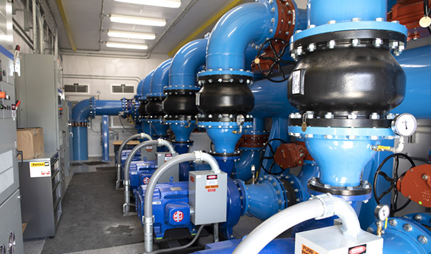 Prefabricated Housed Pump System