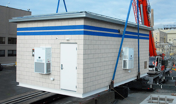 Prefabricated Housed Lift Station System