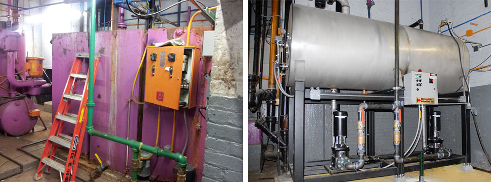 Retrofit Boiler Feed System