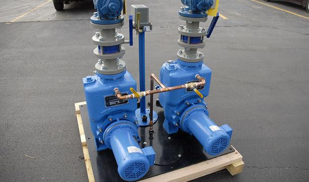 Storm and Sewage Self Primping Pump