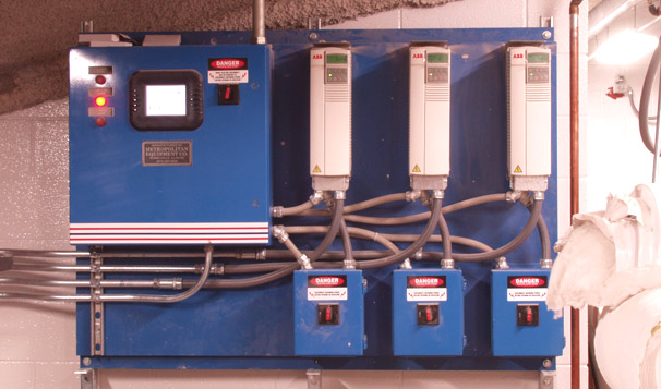 Storm Water Removal Pump Control System