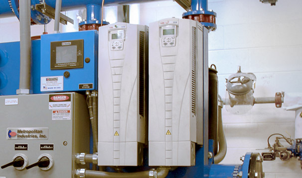 Variable Frequency Drives for Packaged Pump System