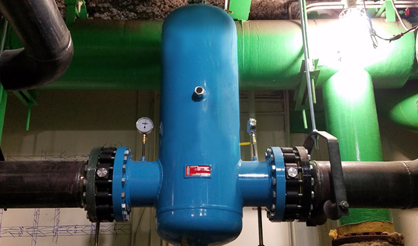 Air & Dirt Separation Mechanical System