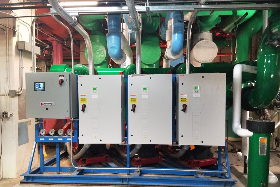 Upgraded Hydronic System at 400 East Randolph, Chicago