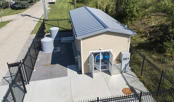 Prefabricated Housed Pump System for Growing Municipal Water Infrastructure Demand